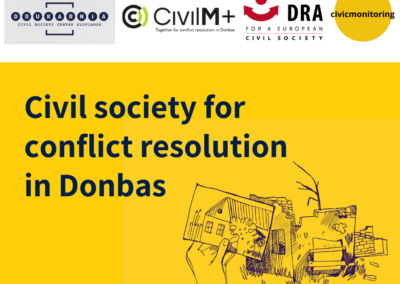Dialogue for understanding and justice: European NGOs working together for conflict resolution in Donbas
