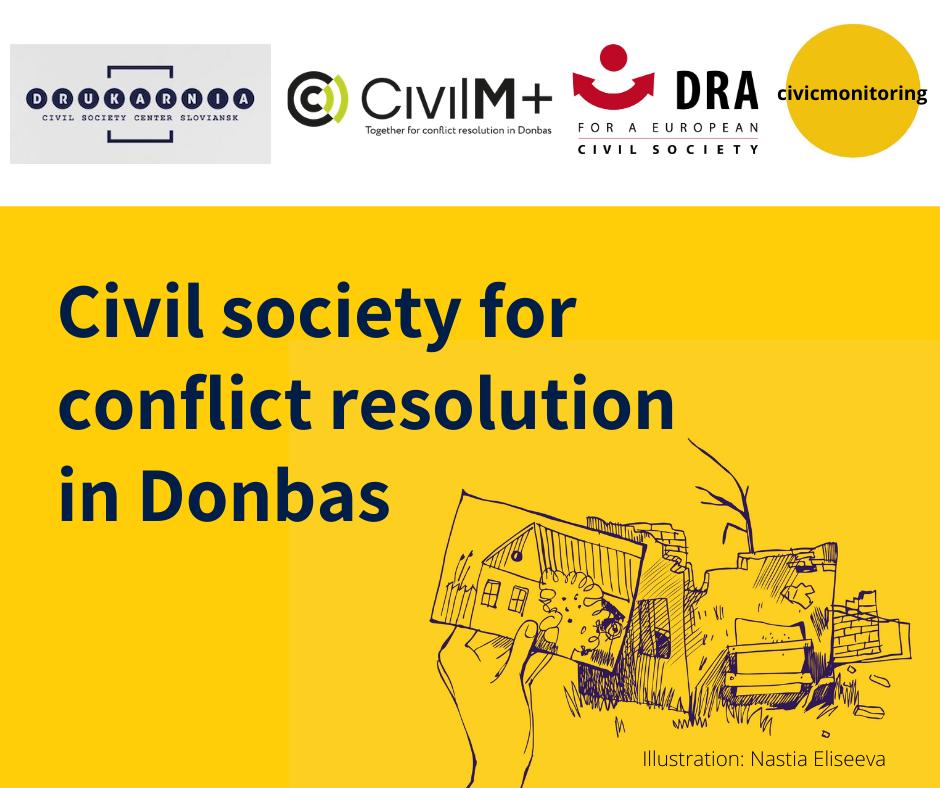 Dialog für Verständigung und Gerechtigkeit: Europäische NGOs arbeiten gemeinsam für Konfliktlösung in Donbas