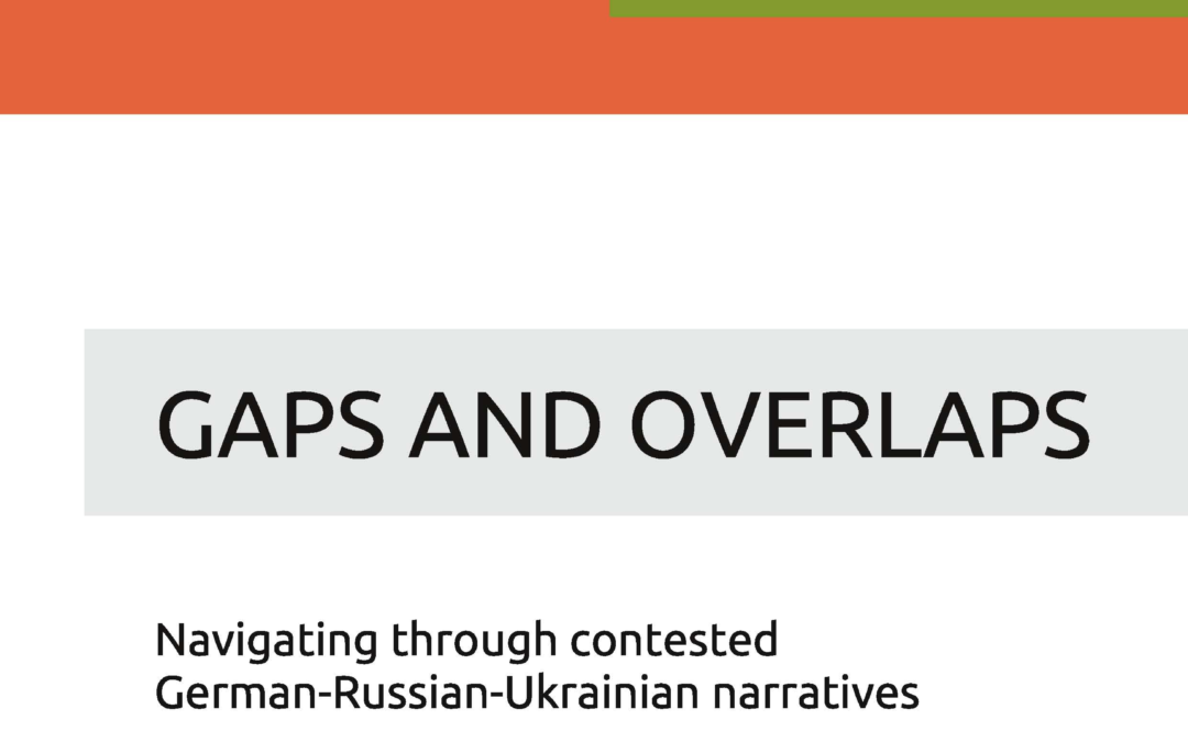 Navigating through contested German-Russian-Ukrainian Narratives